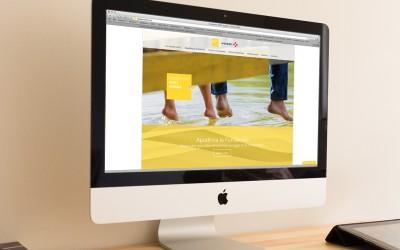 Creada una página web para la Fundación VINCI España